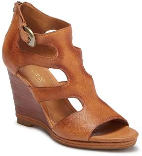 Trask Hara Leather Wedge Sandal