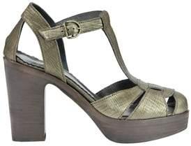 Fiorentini+Baker Women's Bronze Leather Sandals.