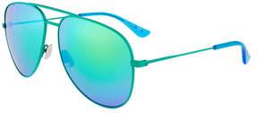 Saint Laurent Aviator Metal Sunglasses