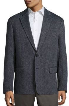 Billy Reid Lexington Linen Blend Jacket