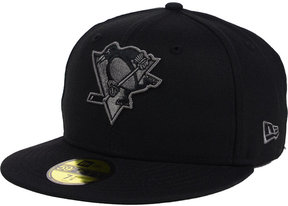 New Era Pittsburgh Penguins Black Graph 59FIFTY Cap