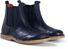 Bisgaard Navy Boots