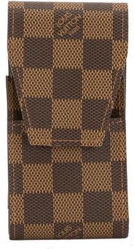 Louis Vuitton Damier Ebene Canvas Cigarette Case - BROWN - STYLE