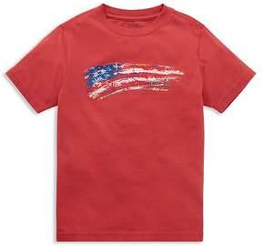 Polo Ralph Lauren Boys' Jersey Flag Tee - Little Kid