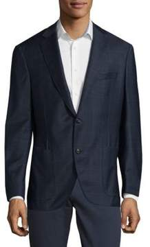 Luciano Barbera Wool Sports Jacket