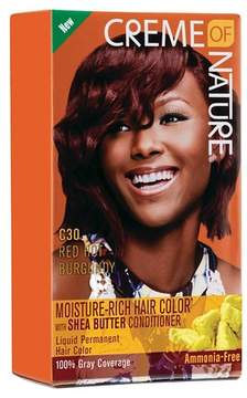 Crème of Nature Moisture Rich Hair Color C30 Rich Honey Burgundy Kit