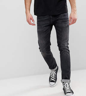 Nudie Jeans Tight Terry Jeans Black Streets Wash