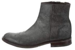 Donald J Pliner Leather Ankle Boots