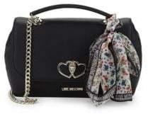 Love Moschino Textured Shoulder Bag