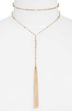 Ettika Women's Set Of 2 Choker & Y-Necklace