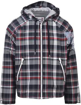 Moncler Gamme Bleu Checkered Nylon Jacket