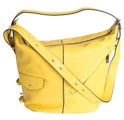 Marc Jacobs Women's Yellow Faux Leather Shoulder Bag. - YELLOW - STYLE