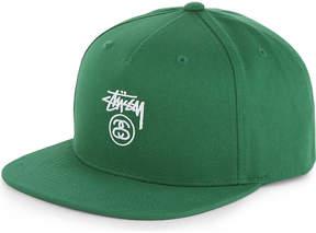 Stussy SS Stock cotton snapback cap