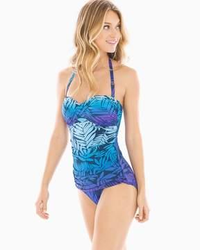 Bleu Rod Beattie Island Heat Twist Bandeau One Piece Swimsuit