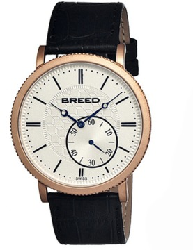 Breed Maxwell Leather-band Swiss Watch.