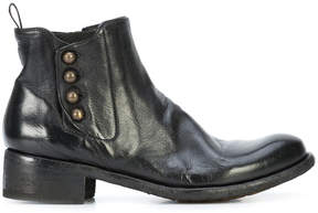 Officine Creative button ankle boots