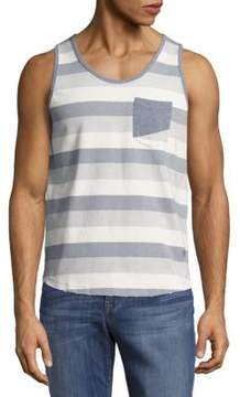 Sovereign Code Striped Cotton Tank Tee