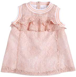 Simonetta Ruffled Lace Tank Top