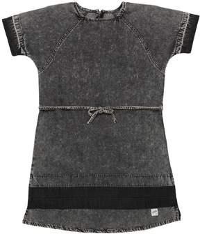 Molo Vintage Effect Chambray Dress