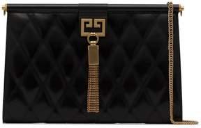 Givenchy black Gem medium quilted leather shoulder bag