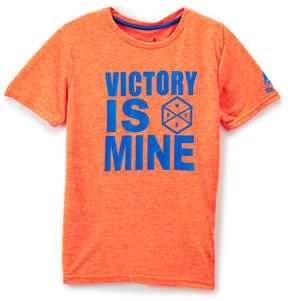 Reebok Orange 'Victory Is Mine' Crewneck Tee - Boys