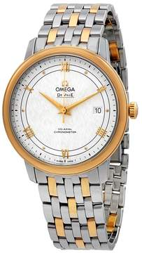 Omega De Ville Prestige Automatic Chronometer Silver Dial Men's Watch