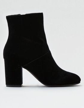 American Eagle Outfitters AE Velvet Heeled Bootie