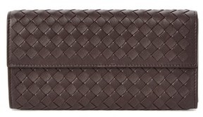 Bottega Veneta Intrecciato Nappa Leather Continental Wallet.