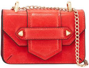 Botkier Casey Leather Chain Crossbody Bag (Golden Hardware)