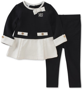 Calvin Klein 2-Pc. Tunic & Leggings Set, Baby Girls (0-24 months)