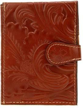 Patricia Nash Tooled Leather Passport Travel Case