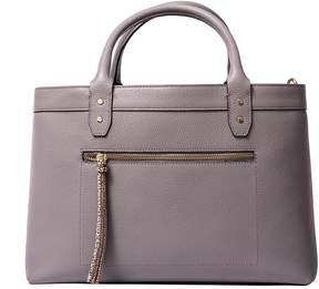 Borbonese Medium Leather Handbag