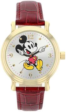 Disney Disney's Mickey Mouse Women's Leather Watch