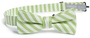 Nordstrom Boy's Stripe Cotton & Silk Bow Tie