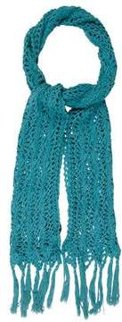 Marc Jacobs Open Knit Angora Blend Scarf