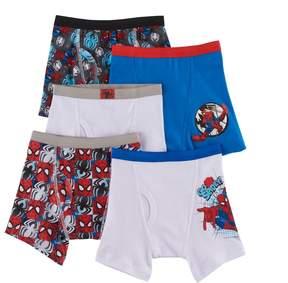 Spiderman Kohl's Boys 4-8 Marvel Ultimate 5-Pack Boxer Briefs