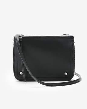 Express Double Zip Crossbody Bag