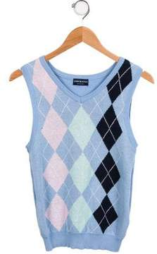 Andy & Evan Boys' Argyle Sweater Vest