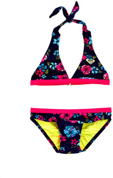 Roxy Girls' 2Pc Tropical Traditions Halter Set