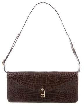 Michael Kors Glazed Crocodile Shoulder Bag - ANIMAL PRINT - STYLE
