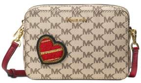 MICHAEL Michael Kors PATCHES POUCHES MEDIUM CAMERA Cherry Xbody Bag - ONE COLOR - STYLE