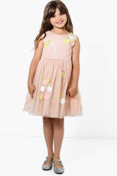 boohoo Girls Boutique Floral Tutu Dress