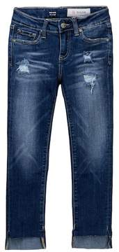AG Jeans The Kate Slim Straight Distressed Jeans (Big Girls)