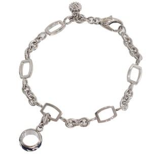 Franck Muller 18K White Gold Talisman Enamel Bracelet