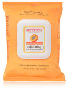 Burt's Bees Exfoliating Facial Cleansing Towelettes - Peach and Willow Bark