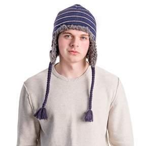 Muk Luks Men's Striped Trapper Hat