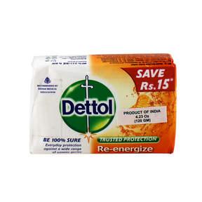 Re-Energize Soap by Dettol (120g Soap)