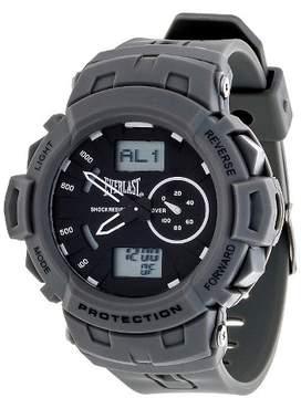 Everlast Analog and Digital Multi Function Watch - Gray