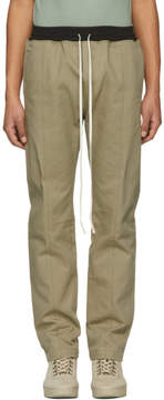 Fear Of God Khaki Selvedge Chino Baggy Trousers