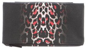 McQ by Alexander McQueen The Leopard Pixel Clutch